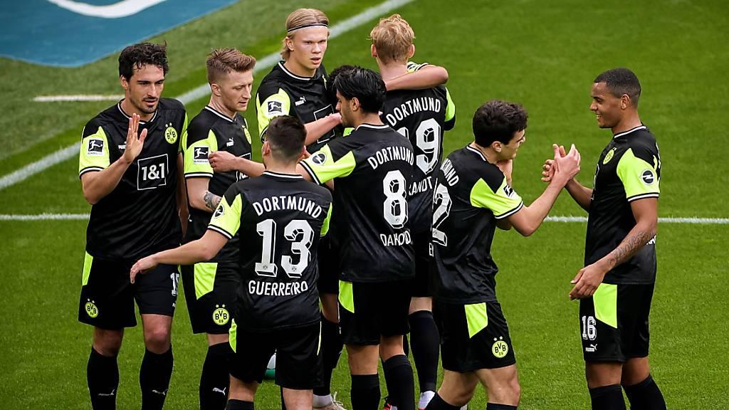 Dortmund wahrt leise Hoffnungen auf die Königsklasse