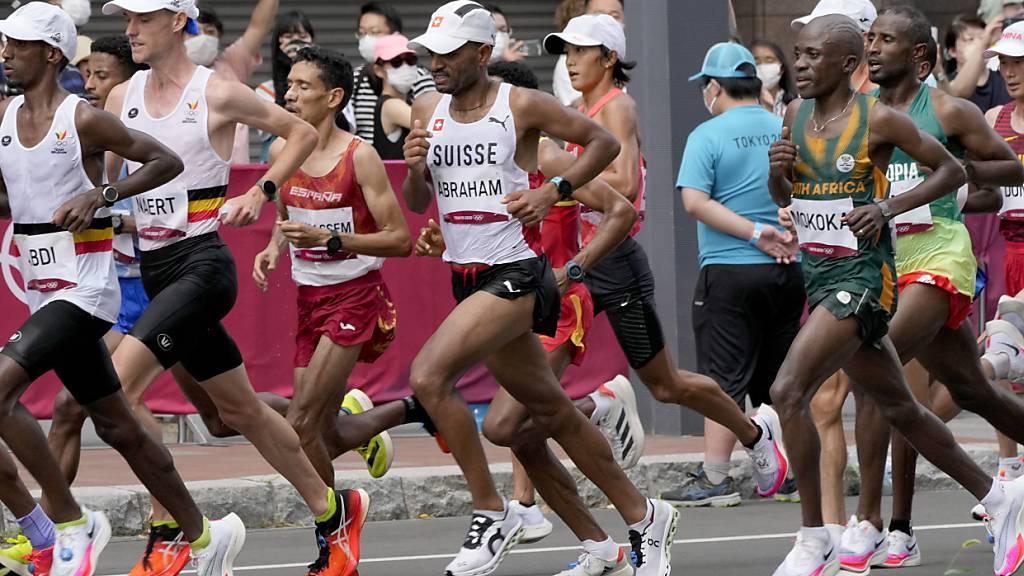 Tadesse Abraham gibt Marathon nach zwei Dritteln der Distanz auf