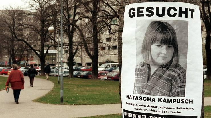 Plötzlich für Jahre verschwunden: Natascha Kampusch