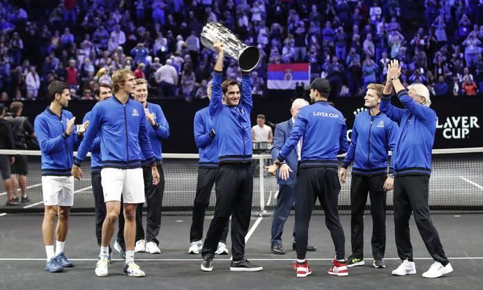 Der Laver Cup steht im offiziellen ATP-Kallender.