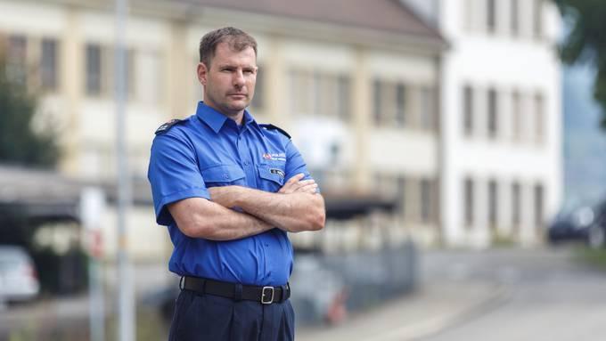 Christian Ambühl ist seit viereinhalb Jahren Kommandant der Polizei Stadt Grenchen.