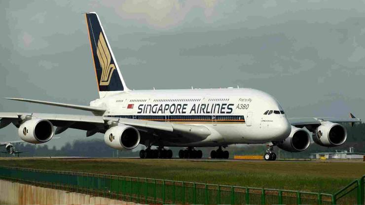 Den Riesenvogel A380 auf Herz und Nieren prüfen