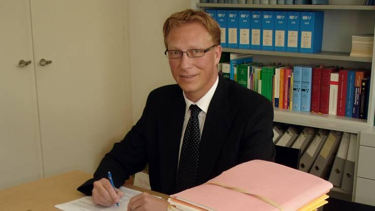 Der Gerichtspräsident: Daniel Aeschbach.