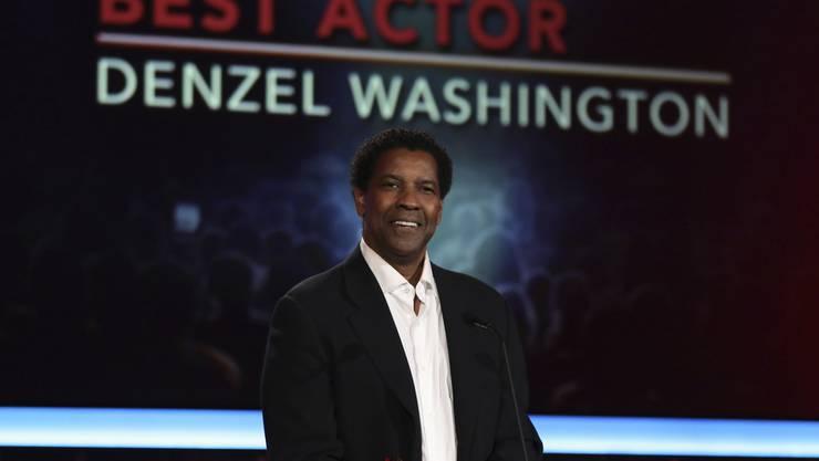Denzel Washington, Vater von Zwillingen, betätigt sich auch als Ratgeber für das Ehepaar Clooney. (Archiv)