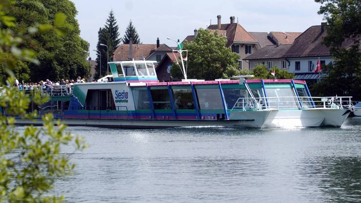 """Aktionaersversammlung BSG. BSG-Schiff """" Siesta """"."""