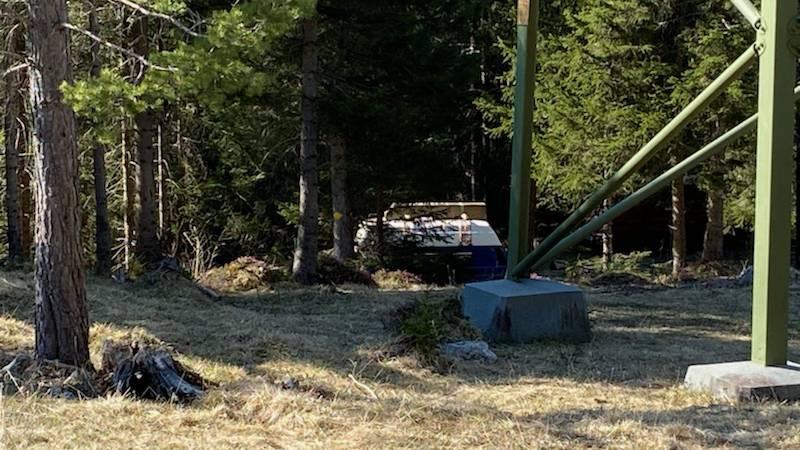 An verschiedenen Orten rund um Vättis lassen sich die Camper nieder.
