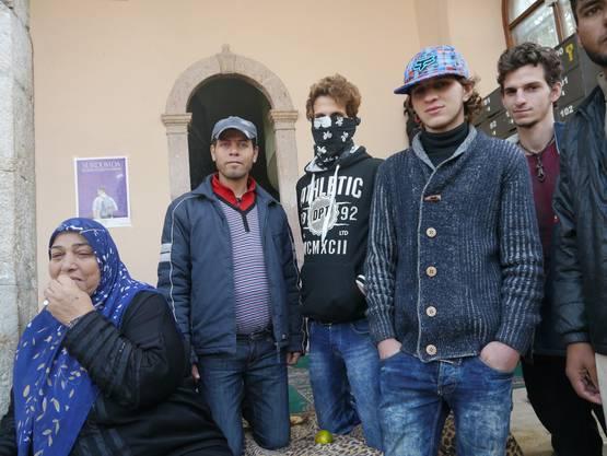 Ihre Hoffnung heisst Deutschland, in der Türkei wollen sie nicht bleiben: Eine syrische Flüchtlingsfamilie in Izmir.
