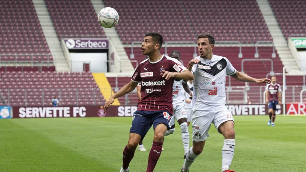Servette und Lugano trennten sich in einem unterhaltsamen Spiel leistungsgerecht 1:1