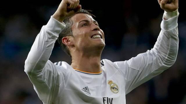 Bei der WM jubelt Sippe vor Ort mit: Cristiano Ronaldo (Archiv)