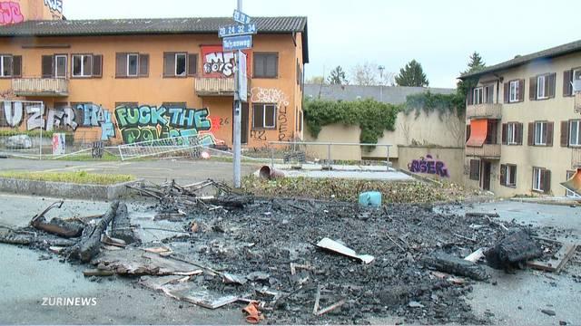 Strassenschlacht nach Party in Schwamendingen