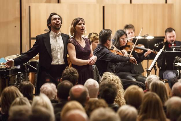 Fabio De Giacomi und Melanie Gehrig Walthert, die mit ihrem eleganten Sopran bezauberte.