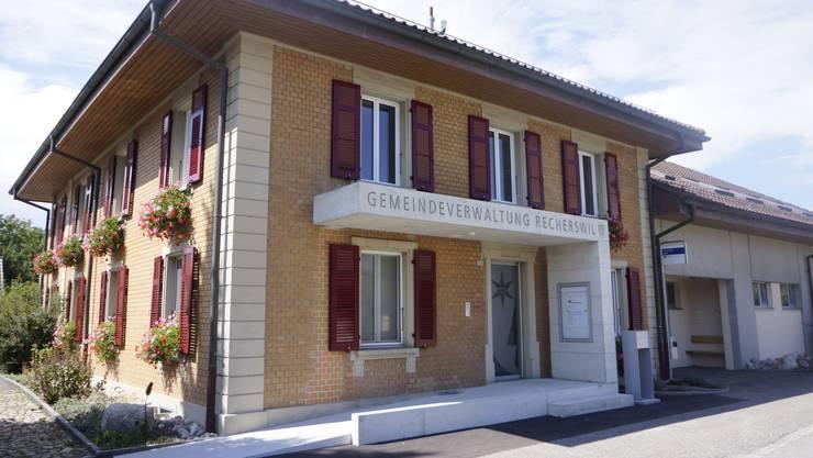 Das Gemeindehaus von Recherswil.