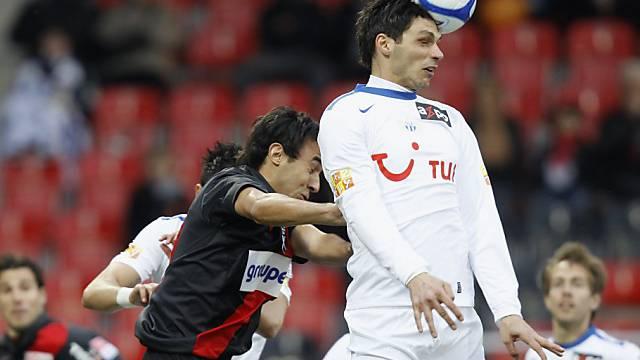 Mathieu Béda (r.) erzielte das 2:1 für den FCZ