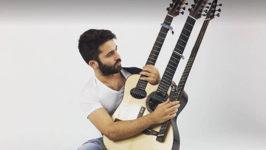 So ein crazy Gitarrensolo habt ihr bestimmt noch nie gesehen