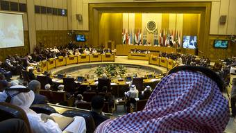 Treffen der Arabischen Liga in Kairo, an welchem vor Botschaftseröffnungen in Jerusalem gewarnt wurde.