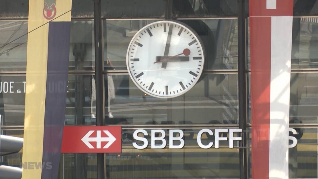 SBB-Testversuch mit 200 Leuten: Rückerstattung wenn der Zug zu spät kommt