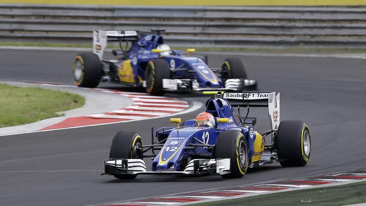 Im Bild: der Sauber C35; Fahrer: Felipe Nasr (BRA), M. Ericsson (SWE)
