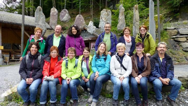 Der Samariterverein Herznach auf Vereinsreise im schönen Glarnerland.