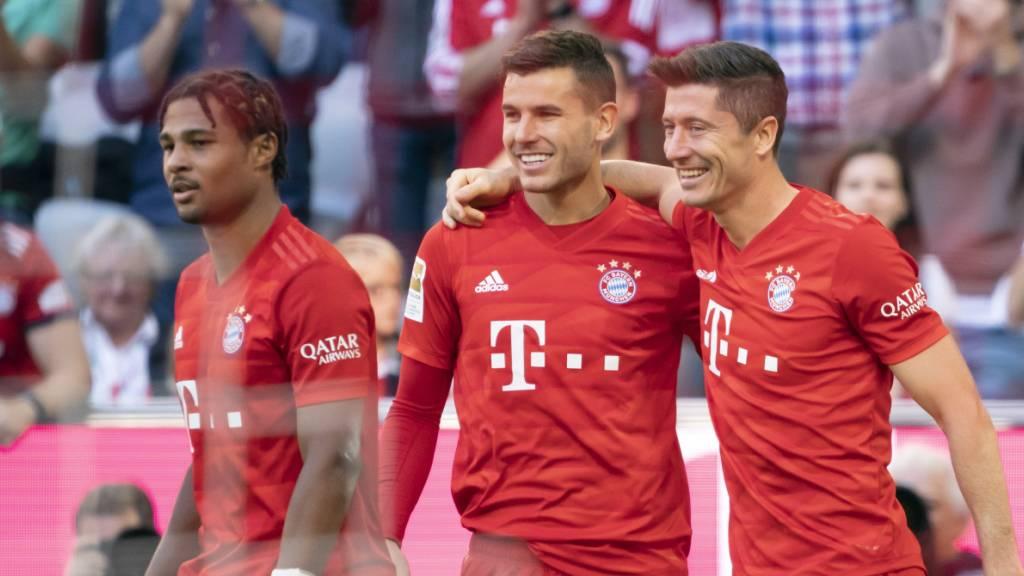 Erneut deutlicher Heimsieg der Bayern