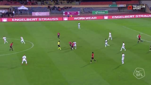 Challenge League, 2018/19, 7. Runde, FC Lausanne – FC Aarau, 1:0 Varol Tasar
