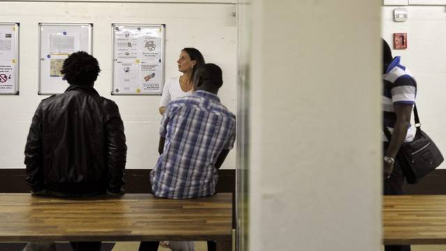 Asylbewerber in einer Unterkunft in Gland VD (Archiv)
