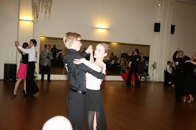 Lucien und Katja, TeamMatch 2. Rang