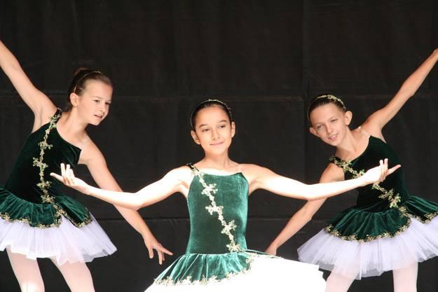 Balletttänzerinnen begeisterten an der Kulturnacht