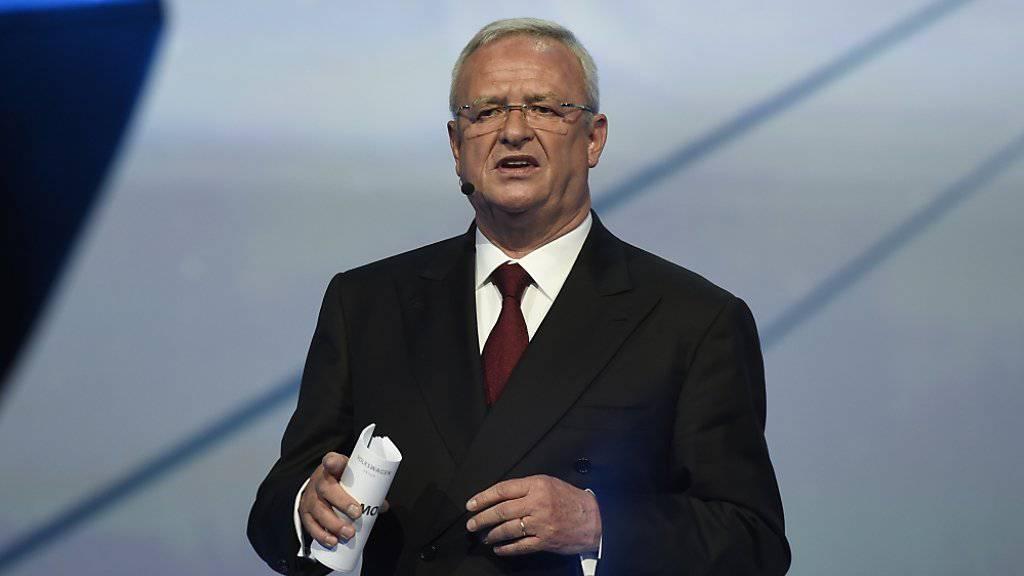Volkswagen CEO Martin Winterkorn sitzt in der Klemme.