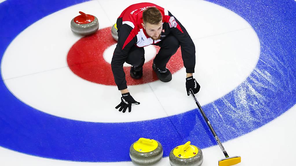 Yannick Schwaller in den Kreisen des Curlingsports