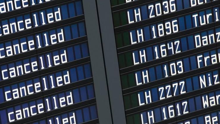 Ab Montag droht Streik bei Eurowings: zahlreiche Flüge könnten ausfallen. (Symbolbild)