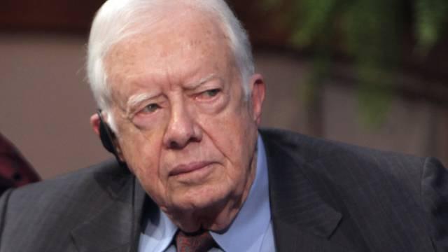Der ehemalige US-Präsident Jimmy Carter (Archiv)