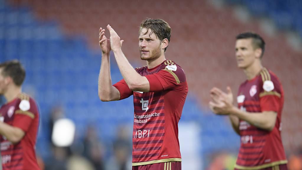 Nicolas Hasler schliesst sich dem FC Thun an