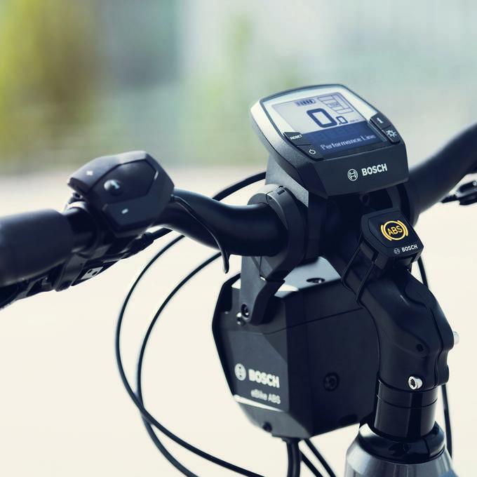 Sicher bremsen dank dem ABS fürs E-Bike