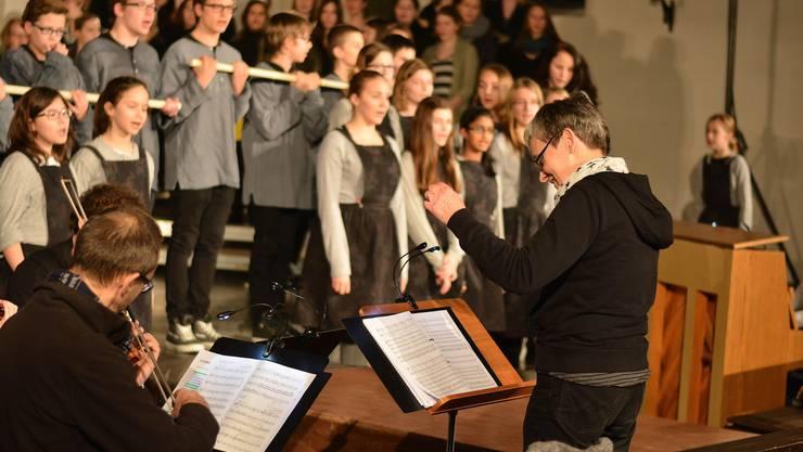 Gemeinsam mit Regisseurin Trix Lehr realisiert Chorleiterin Margret Sohn seit 1993 alle zwei Jahre ein Musicalprojekt im Siggenthal
