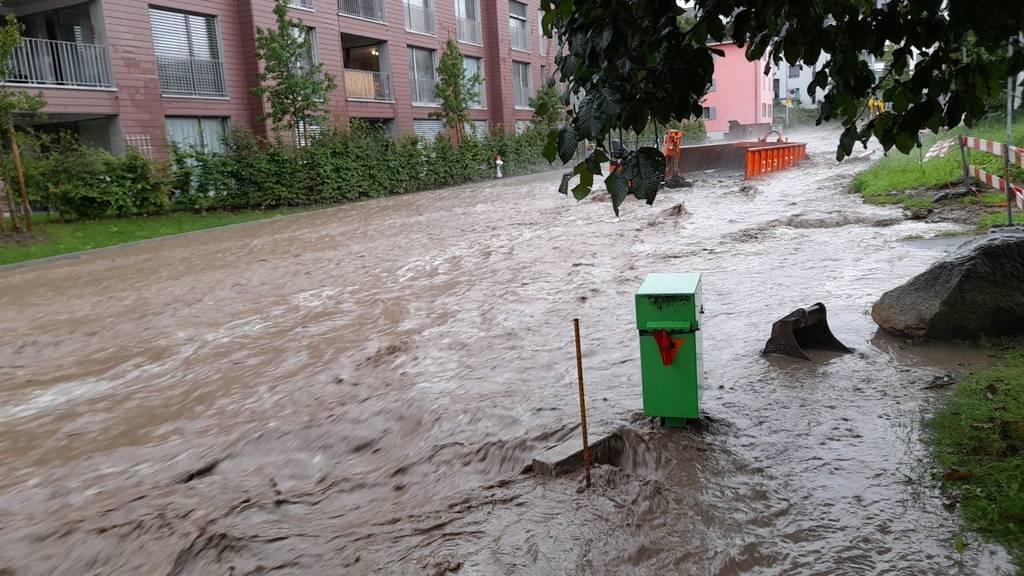 Risch bittet Bevölkerung um Hilfe bei Hochwasserschutz