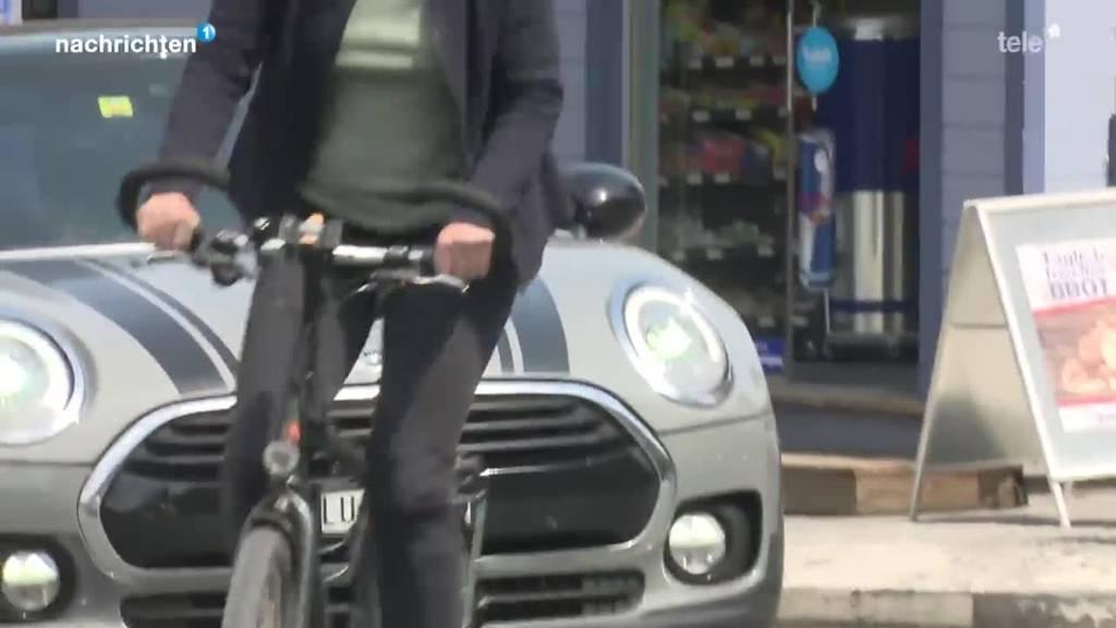 Pilotprojekt für mehr Sicherheit von Velofahrern