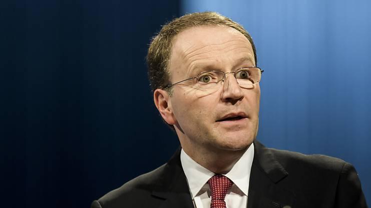 Nestlé-Konzernchef Mark Schneider hofft für 2018 auf ein stärkeres Wachstum als im Vorjahr.