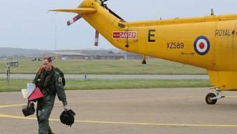 Prinz William kehrt glücklich von seinem ersten Einsatz zurück