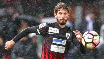 Kampfgeist, Willensstärke und voller Einsatz für die Mannschaft: Juan Pablo Garat spielt seit knapp sechs Jahren beim FC Aarau – und hofft auf ein weiteres Vertragsjahr.