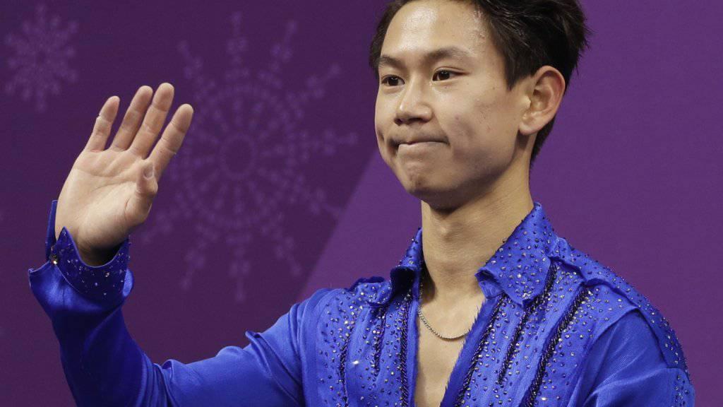 Der kasachische Eiskunstläufer Denis Ten wurde Opfer einer Messerattacke