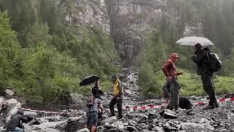 Thumb for 'Spanische Touristen sterben bei Canyoning-Unglück bei Vättis SG'