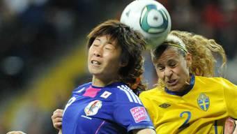Japans Frauen gewinnen Halbfinal gegen Schweden 3:1