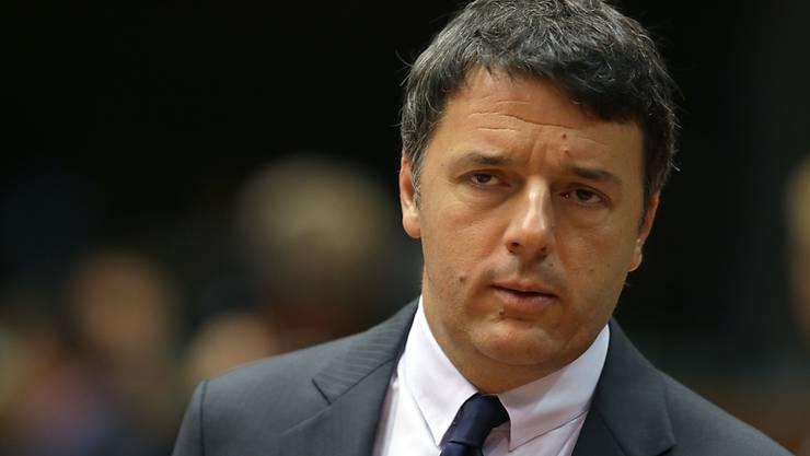 Italiens Ministerpräsident Matteo Renzi. (Archiv)