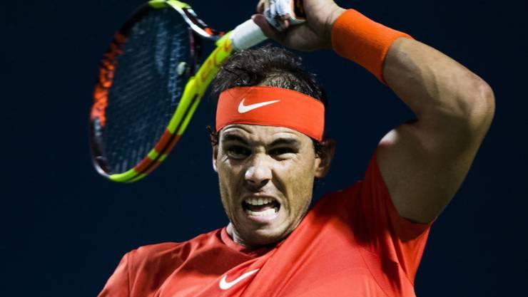 Rafael Nadal kämpft sich gegen Marin Cilic durch
