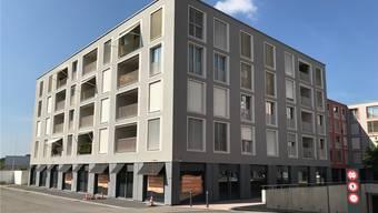 Im ersten Halbjahr 2019 bezieht die Raiffeisenbank die neue Filiale im Rheinfelder Salmenpark. zvg