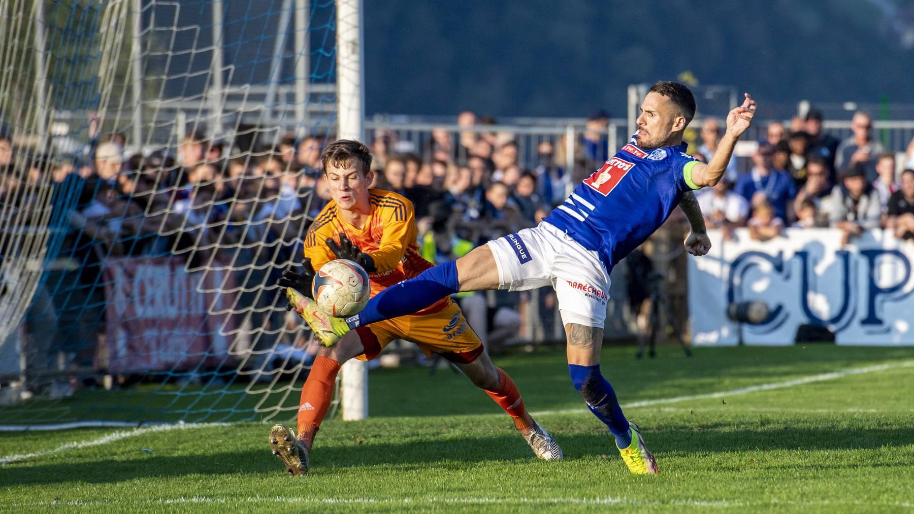 Der Buochser Goalie Raphael Radtke vereitelte eine FCL-Chance nach der anderen.