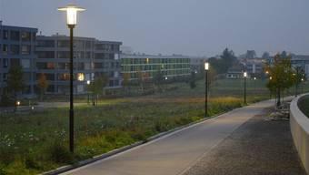 Ab November werden die Strassenlampen in der Widmi um 50 Prozent gedimmt, um Energie zu sparen.