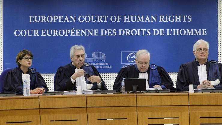 Richter des Europäischen Gerichtshofs für Menschenrechte (EGMR) in Strassburg.