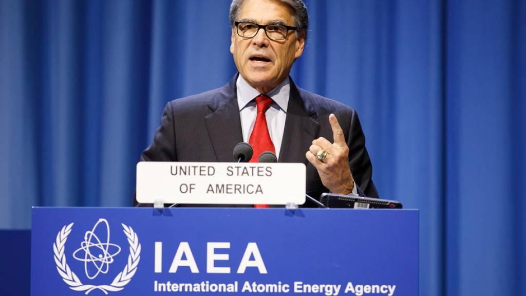 «Das war ein vorsätzlicher Angriff auf die Weltwirtschaft und den globalen Energiemarkt», sagte US-Energieminister Rick Perry am Montag bei einem Treffen der Internationalen Atomenergiebehörde (IAEA) in Wien.