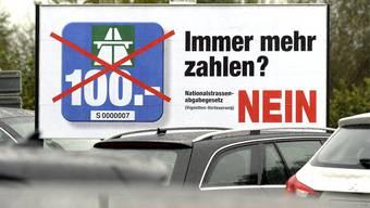 Nur wenige Aargauer wollen 100 Franken für die Vignette zahlen